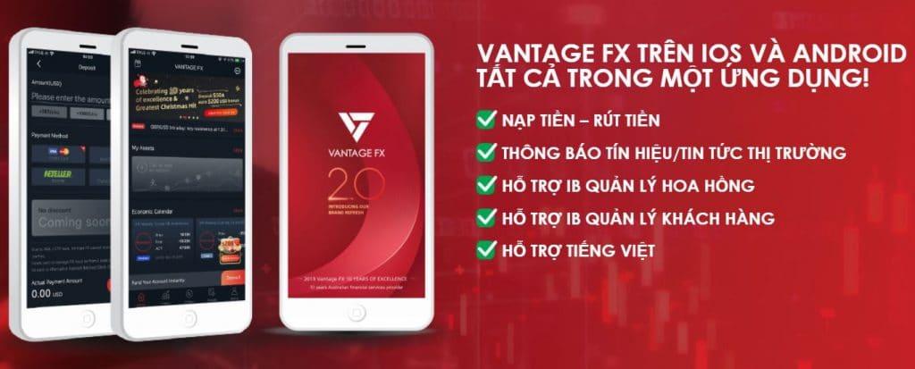Đành giá sàn forex Vantage FX